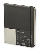 Moleskine Tablet Cover Nera compatibile con iPad Air + Volant Reporter Notebook