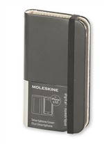 Moleskine Smartphone Cover Nera compatibile con iPhone 5/5s