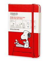 Moleskine agenda 12 mesi  Peanuts  Weekly Notebook Diary  Pocket  Copertina rigida