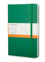 Moleskine  Notebook Large Ruled Oxide Green Hard