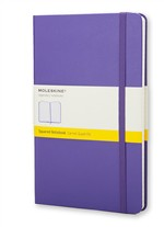 MoleskineNotebook Pocket Squared Brilliant Violet Hard