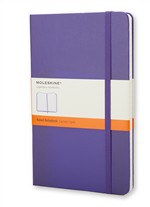 MoleskineNotebook Large Ruled Brilliant Violet Hard