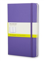 Moleskine  Notebook Large Plain Brilliant Violet Hard