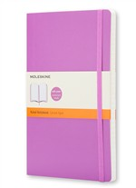 Moleskine Taccuino - Large - Ruled - Viola orchidea - Morbido