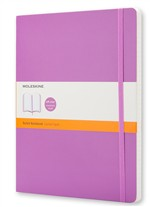 Moleskine Taccuino - Extra Large - Ruled - Viola orchidea - Morbido