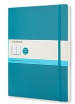 Moleskine Taccuino - Extra Large - Dotted - Blu oltremare - Morbido