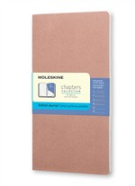 Moleskine Taccuino Chapters Journal Slim Medium Puntinato Rosa Antico