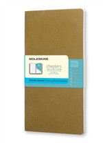 Moleskine Taccuino Chapters Journal Slim Medium Puntinato Oliva Fulvo