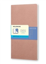Moleskine Taccuino Chapters Journal Slim Large Puntinato Rosa Antico