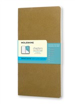 Moleskine Taccuino Chapters Journal Slim Large Puntinato Oliva Fulvo