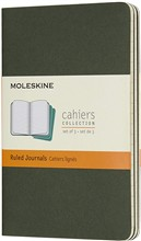 Moleskine Quaderni Cahier a righe Pocket verde mirto