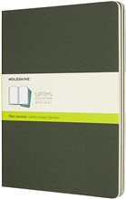 Moleskine Quaderni Cahier a pagine bianche Extra Large verde mirto