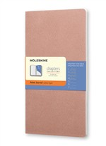 Moleskine Taccuino Chapters Journal Slim Large A Righe Rosa Antico