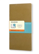 Moleskine Taccuino Chapters Journal Slim Large A Righe Oliva Fulvo