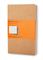 Moleskine Quaderni Cahier a righe Pocket Kraft Brown