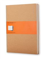 Moleskine Quaderni Cahier a righe Extra Large Kraft Brown