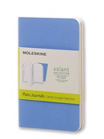 Moleskine Quaderno Volant Journal a pagine bianche Extra Small Powder Blue