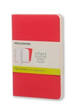 Moleskine Quaderno Volant Journal a pagine bianche Pocket Geranium Red