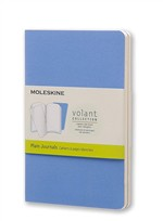 Moleskine Quaderno Volant Journal a pagine bianche Pocket Powder Blue