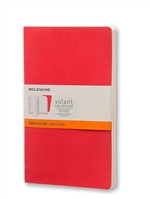 Moleskine Quaderno Volant Journal a righe Large Geranium Red