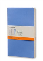 Moleskine Quaderno Volant Journal a righe Large Powder Blue