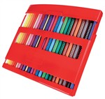 Faber-Castell 212484 - Flip Box 24+1 matite colorate Colour Grip