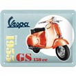 Cartello In Lamiera Vespa - Gs 150 Since 1955