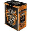 Scatola L Tin Box L Harley-Davidson - Wild At Heart, 14x20x10 cm