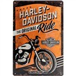 Cartello Tin Sign 20 x 30cm Harley-Davidson The Original Ride, 30x0x20 cm