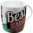 Tazza in ceramica Mugs Best Garage - Green, 9x9x9 cm