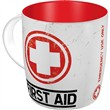 Tazza in ceramica Mugs First Aid - Classic, 9x9x9 cm