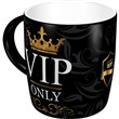 Tazza in ceramica Mugs VIP Only, 9x9x9 cm