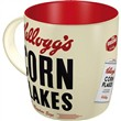 Tazza in ceramica Mugs Kellogg's Corn Flakes, 9x9x9 cm