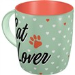 Tazza in ceramica Mugs Cat Lover, 9x9x9 cm