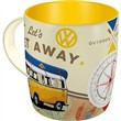 Tazza in ceramica Mugs VW Bulli - Let's Get Away, 9x9x9 cm
