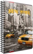 Quaderno maxi A4 con spirale Cartomania Metropol a righe New York