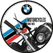 Orologio Wall Clock BMW - Motorcycles Since 1923, 31x6x31 cm