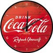 Orologio Wall Clock Coca-Cola - Logo Red Refresh Yourself, 31x6x31 cm