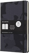 Taccuino Moleskine Nomad Blend Collection Limited Edition large a righe. Camouflage nero