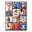Set di 9 magneti Pin Up - Ahoy, 9x2x7 cm