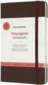 Taccuino Voyageur Travellers Moleskine medium copertina rigida marrone. Coffee Brown