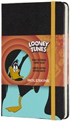 Taccuino Moleskine Looney Tunes Limited Edition pocket a righe. Daffy Duck. Nero