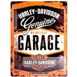 Cartello Tin Sign 30 x 40cm Harley-Davidson Garage, 40x0x30 cm