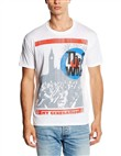 London (T-shirt Bianco Uomo Medium)