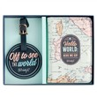 Set etichetta da viaggio e porta passaporto Mr Wonderful