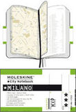 Moleskine City Notebook  Milano