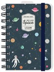 Agenda Legami Photo 2020, 12 mesi, giornaliera small con spirale Spazio. Space Oddity
