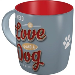 Tazza in ceramica Mug PfotenSchild - Love Dog