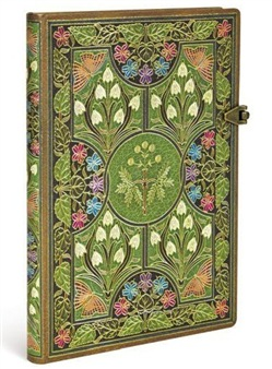 Taccuino notebook Paperblanks Poesia in fiore midi a righe