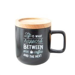 MR WONDERFUL Tazza - Life is what happens between one coffee and the next 8,2 x 9 x 6,5